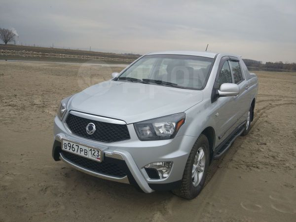 SsangYong Actyon Sports, 2013 год, 920 000 руб.