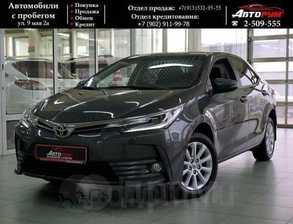 Toyota Corolla, 2016 год, 1 167 000 руб.