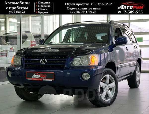 Toyota Highlander, 2001 год, 617 000 руб.