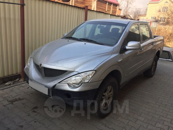 SsangYong Actyon Sports, 2011 год, 435 000 руб.