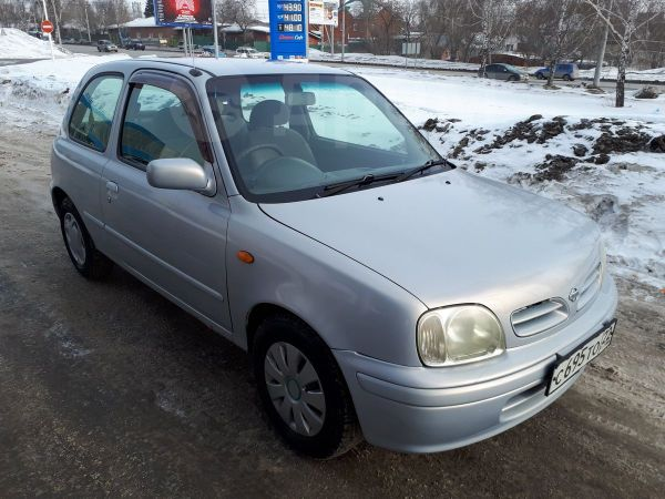 Nissan March, 2001 год, 128 000 руб.