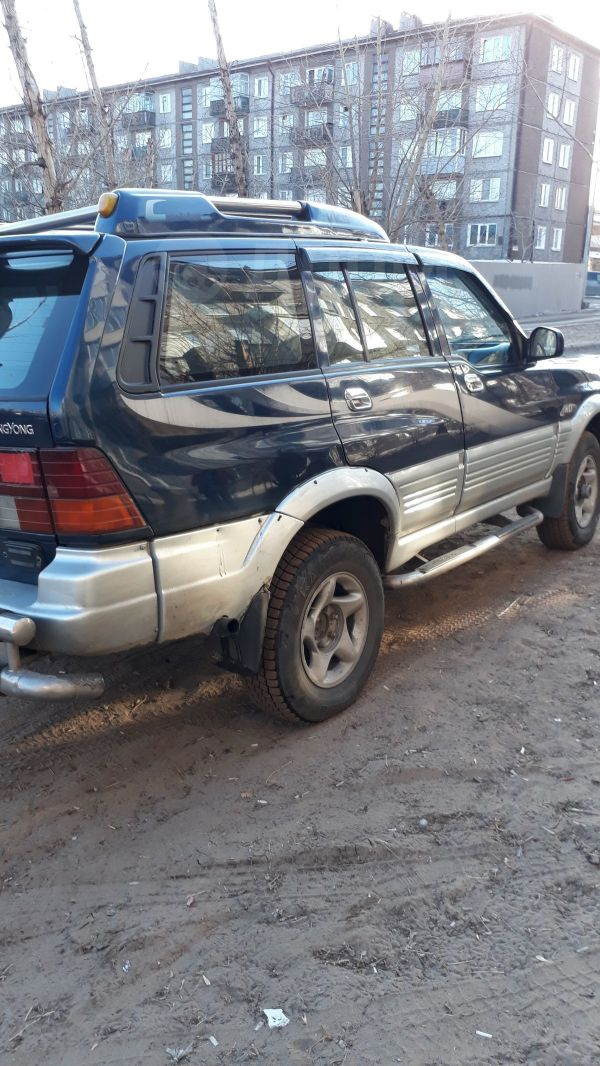 SsangYong Musso, 1995 год, 290 000 руб.
