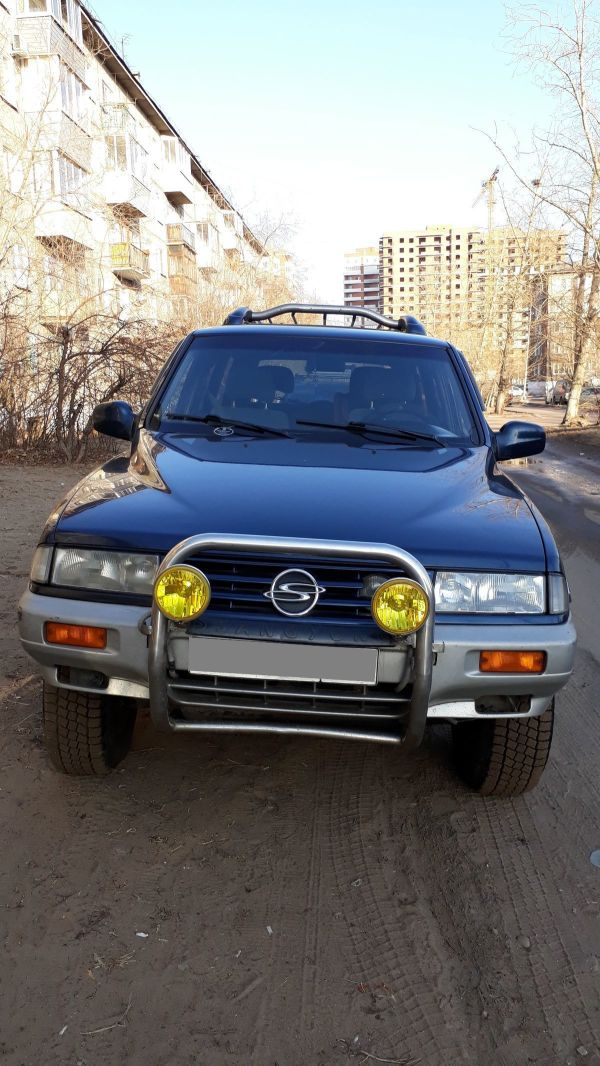 SsangYong Musso, 1995 год, 300 000 руб.