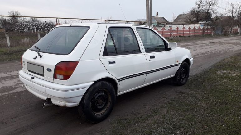 Ford Fiesta, 1991 год, 50 000 руб.