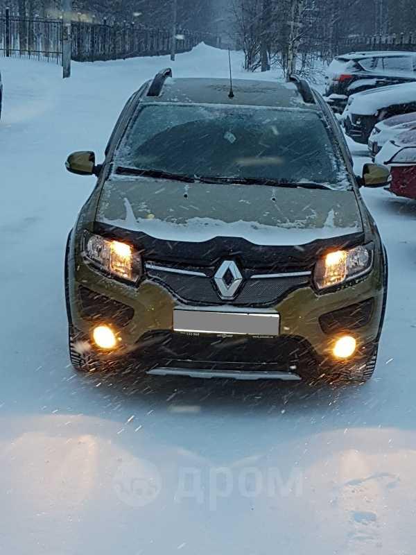 Renault Sandero, 2018 год, 740 000 руб.