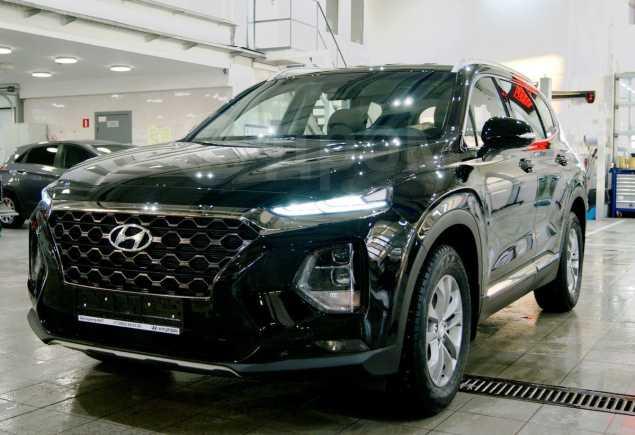 Hyundai Santa Fe, 2019 год, 2 584 000 руб.