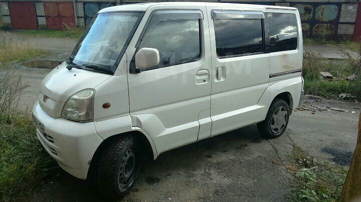 Mitsubishi Town Box Wide, 1999 год, 120 000 руб.