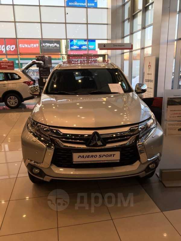 Mitsubishi Pajero Sport, 2018 год, 2 564 000 руб.