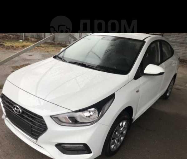 Hyundai Solaris, 2018 год, 783 000 руб.