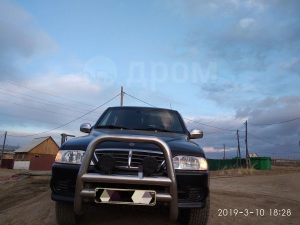 SsangYong Musso Sports, 2004 год, 420 000 руб.