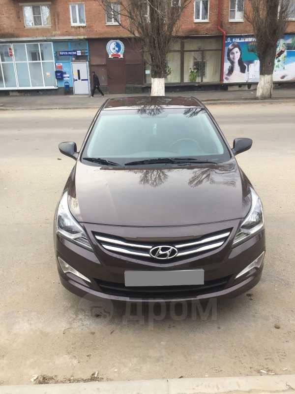 Hyundai Solaris, 2016 год, 550 000 руб.