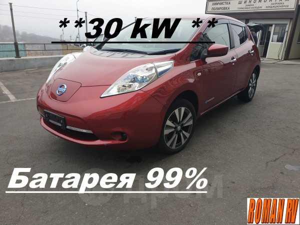 Nissan Leaf, 2017 год, 1 130 000 руб.