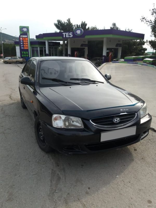 Hyundai Accent, 2008 год, 170 000 руб.