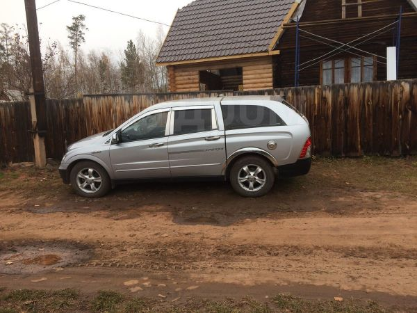 SsangYong Actyon Sports, 2007 год, 370 000 руб.