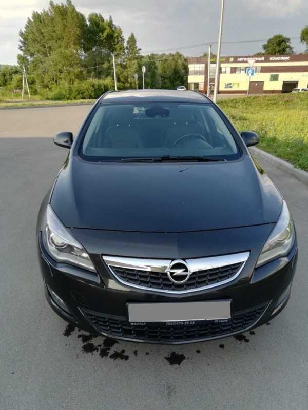 Opel Astra, 2012 год, 560 000 руб.