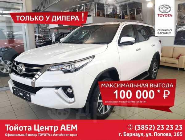 Toyota Fortuner, 2018 год, 2 931 000 руб.
