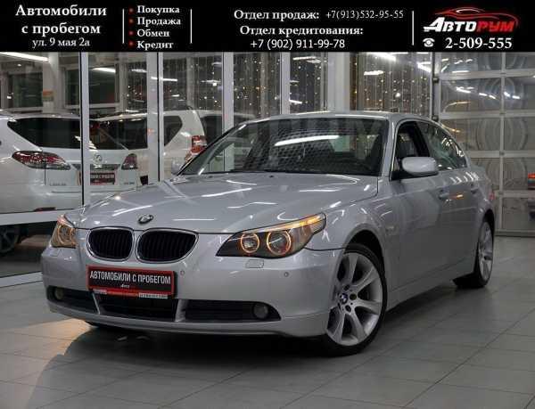 BMW 5-Series, 2003 год, 487 000 руб.