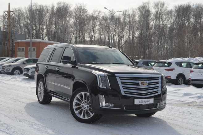 Cadillac Escalade, 2017 год, 5 800 000 руб.