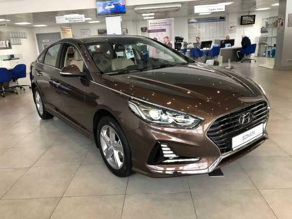 Hyundai Sonata, 2019 год, 1 595 000 руб.