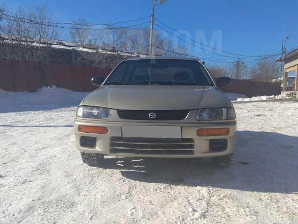 Mazda 323, 1997 год, 140 000 руб.