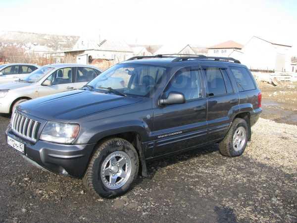Jeep Grand Cherokee, 2004 год, 575 000 руб.