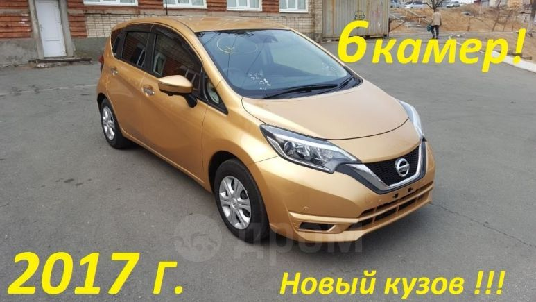 Nissan Note, 2017 год, 647 000 руб.