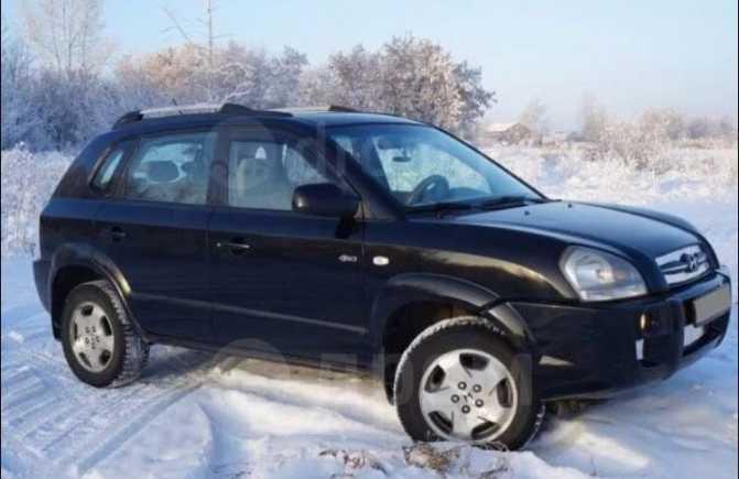 Hyundai Tucson, 2004 год, 620 000 руб.
