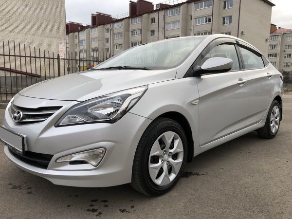 Hyundai Solaris, 2015 год, 579 999 руб.