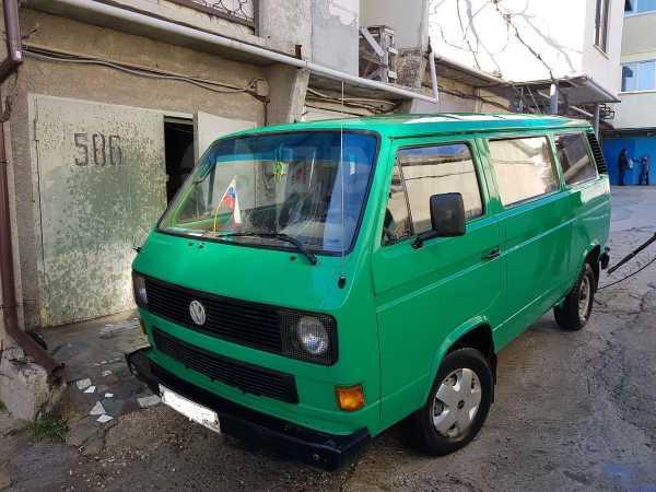 Volkswagen Transporter, 1985 год, 165 000 руб.