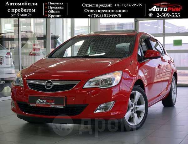 Opel Astra, 2011 год, 547 000 руб.