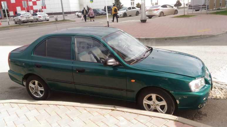 Hyundai Accent, 2002 год, 147 000 руб.
