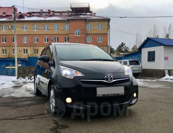 Toyota Ractis, 2011 год, 599 000 руб.