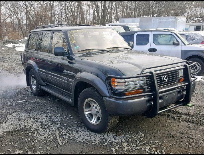 Lexus LX450 1997 года в Новороссийске, обмен на более