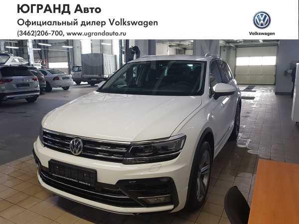 Volkswagen Tiguan, 2018 год, 2 360 207 руб.