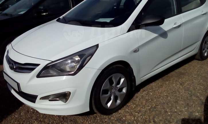 Hyundai Solaris, 2015 год, 495 000 руб.