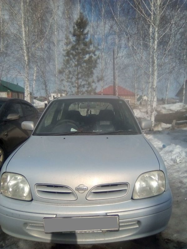 Nissan March, 2001 год, 120 000 руб.