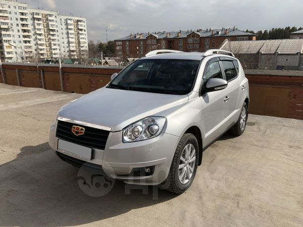 Geely Emgrand X7, 2015 год, 615 000 руб.
