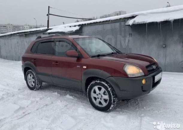 Hyundai Tucson, 2004 год, 625 000 руб.