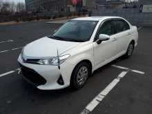 Владивосток Corolla Axio 2017