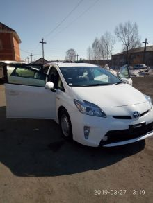 Тальменка Toyota Prius 2013