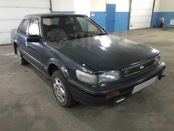Nissan Bluebird, 1991 год, 99 000 руб.