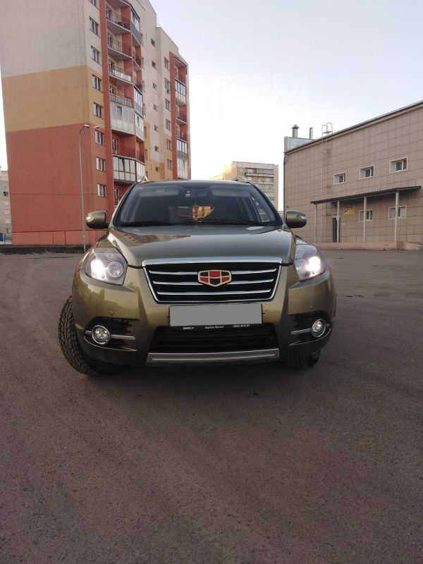 Geely Emgrand X7, 2016 год, 635 000 руб.