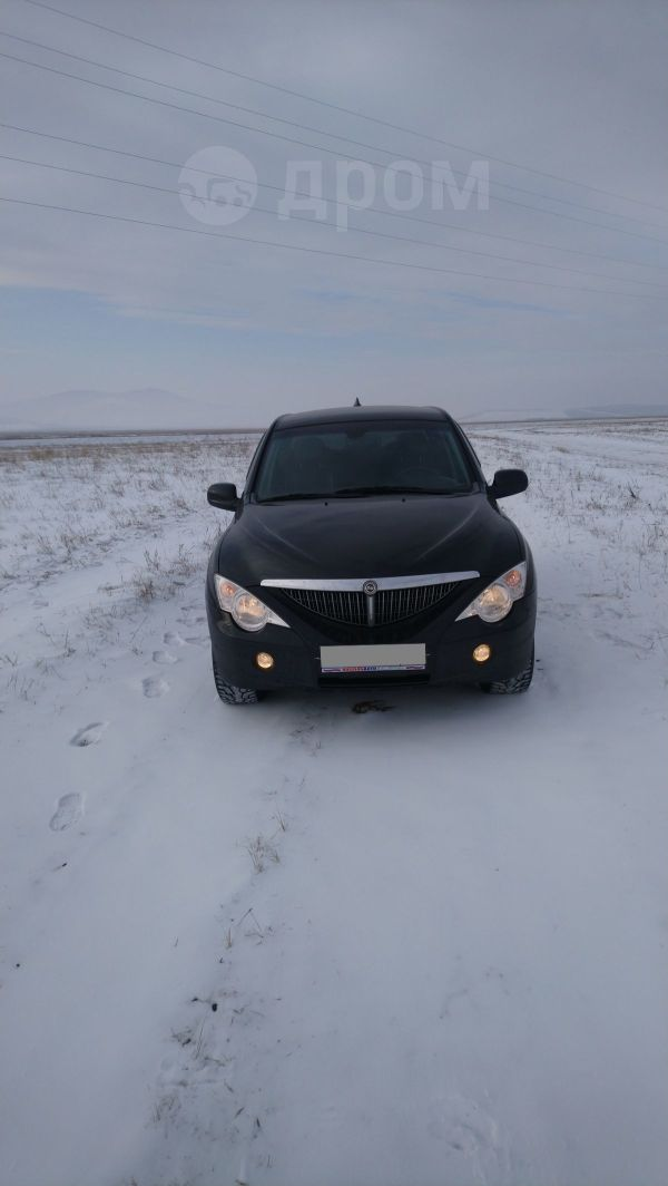 SsangYong Actyon Sports, 2009 год, 450 000 руб.