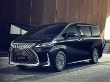 Lexus LM300h 2019, минивэн, 1 поколение, H30