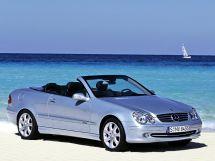 Mercedes-Benz CLK-Class 2003, открытый кузов, 2 поколение, A209