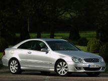 Mercedes-Benz CLK-Class рестайлинг 2005, купе, 2 поколение, C209