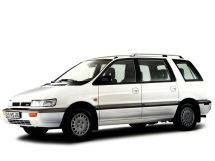 Mitsubishi Space Wagon 1991, минивэн, 2 поколение