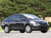 Toyota Yaris рестайлинг 2009, седан, 2 поколение, XP90