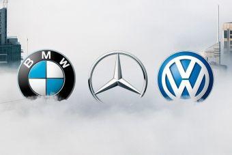 Немецкая тройка сообща откладывала внедрение систем, снижающих количество вредных выбросов
