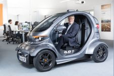 Как этот крохотный беспилотный электромобиль справится с российским климатом и дорогами?